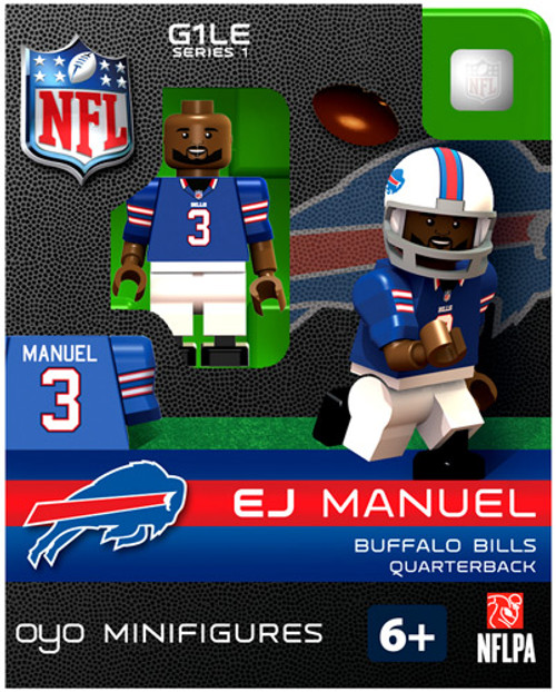 Buffalo Bills NFL Generation 1 Series 1 EJ Emanuel Minifigure
