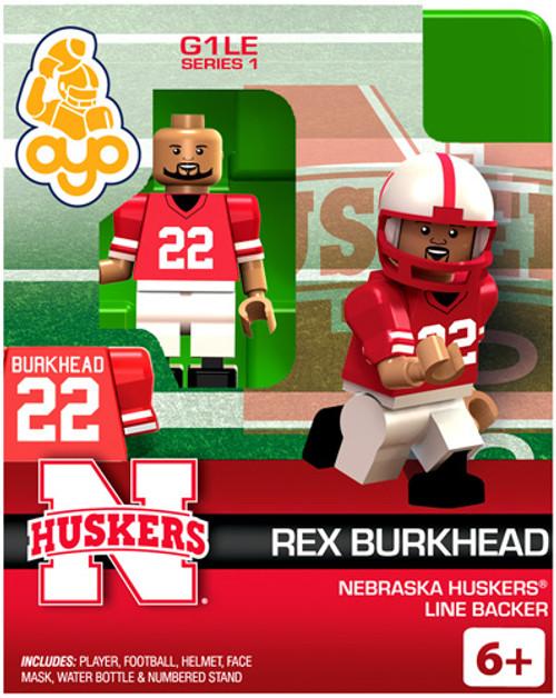 Nebraska Huskers NCAA Generation 1 Series 1 Rex Burkhead Minifigure