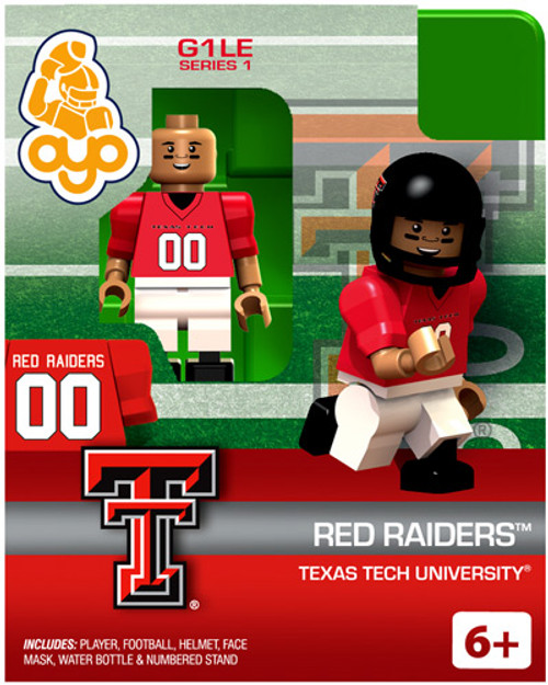 Texas Tech Red Raiders NCAA Generation 1 Series 1 Red Raiders Minifigure