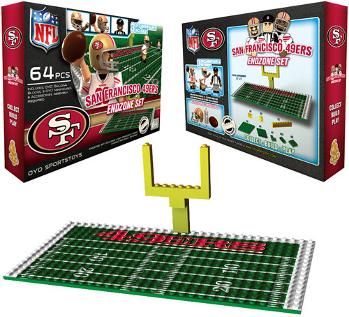 NFL Generation 1 San Francisco 49ers Endzone Set