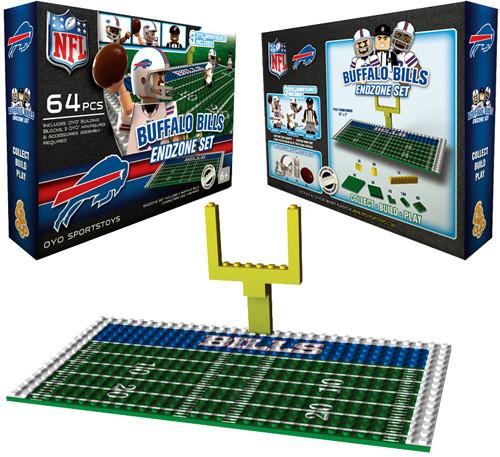 NFL Generation 1 Buffalo Bills Endzone Set