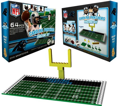 NFL Generation 1 Carolina Panthers Endzone Set