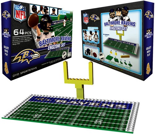 Baltimore Colts NFL Generation 1 Baltimore Ravens Endzone Set