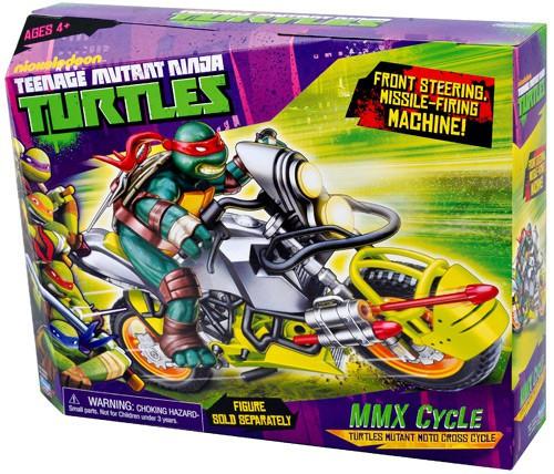Teenage Mutant Ninja Turtles Nickelodeon MMX Cycle Action FIgure Vehicle