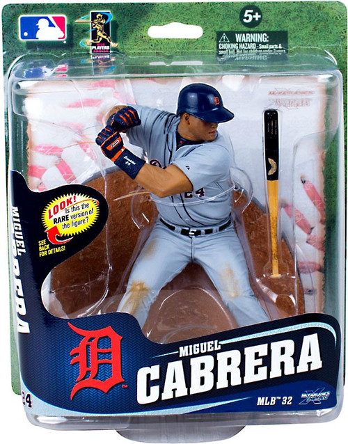 McFarlane Toys MLB Detroit Tigers Sports Picks Series 32 Miguel Cabrera Action Figure