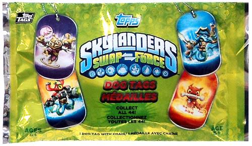 Skylanders Swap Force Pack Dog Tag
