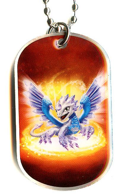 Skylanders Swap Force Flashwing Dog Tag #5 [Loose]