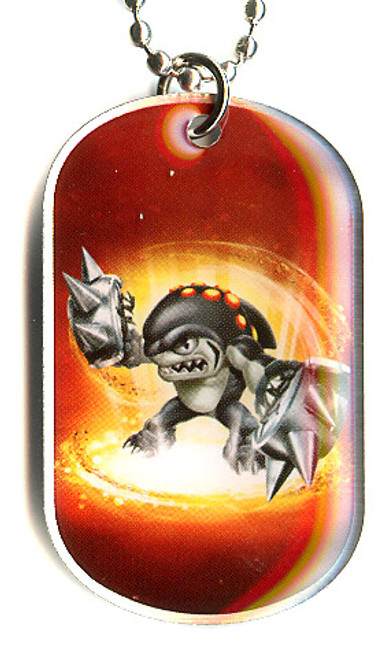 Skylanders Swap Force Terrafin Dog Tag #6 [Loose (No Package)]