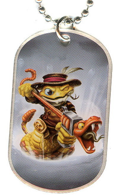 Skylanders Swap Force Rattle Shake Dog Tag #19 [Loose (No Package)]
