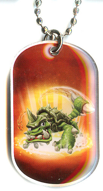 Skylanders Swap Force Slubber Tooth Dog Tag #24 [Loose (No Package)]
