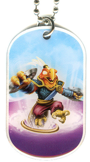 Skylanders Swap Force Free Loop Dog Tag #44 [Loose]