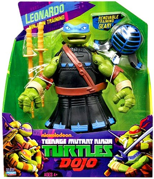 Teenage Mutant Ninja Turtles Nickelodeon Dojo Leonardo Action Figure
