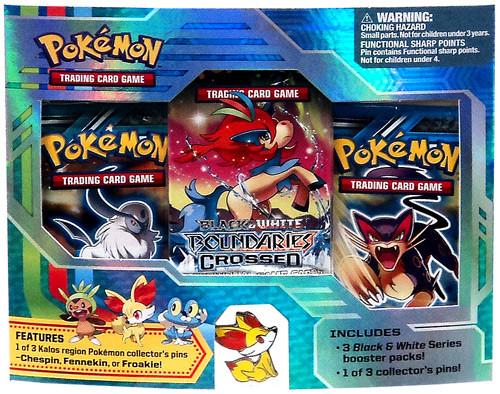 Pokemon Black & White Boundaries Crossed Fennekin Pin Pack