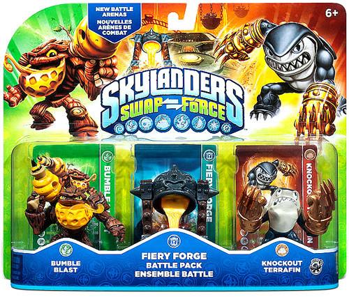 Skylanders Swap Force Fiery Forge Battle Pack