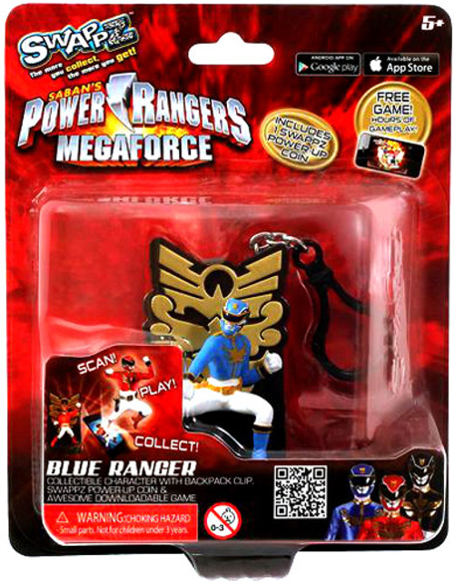 Power Rangers Megaforce Swappz Blue Ranger Minifigure