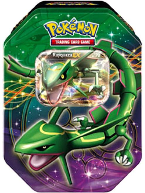 Pokemon Black & White Reissue Legendary EX Rayquaza Collector Tin