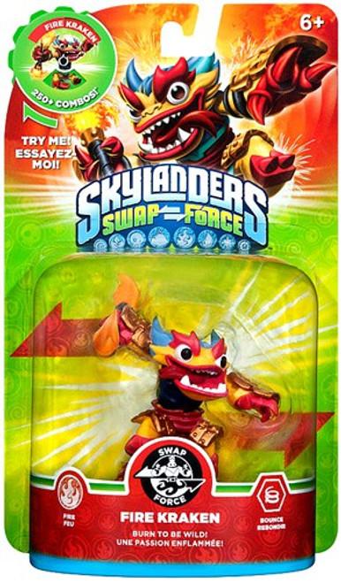 Skylanders Swap Force Swappable Fire Kraken Figure Pack