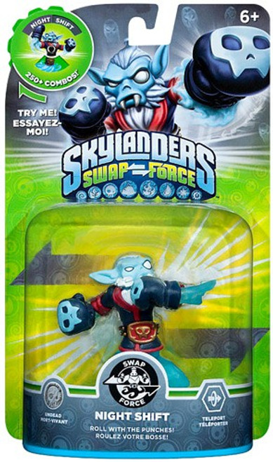 Skylanders Swap Force Swappable Night Shift Figure Pack