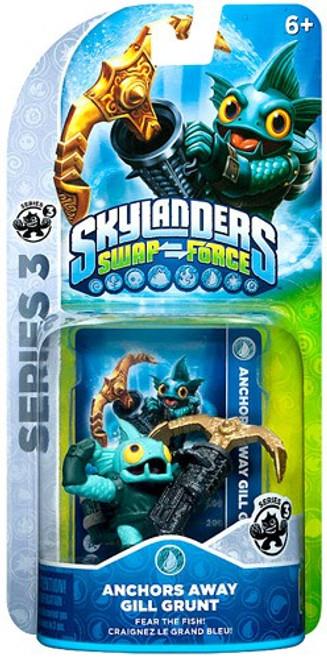 Skylanders Swap Force Series 3 Gill Grunt Figure Pack [Anchors Away]