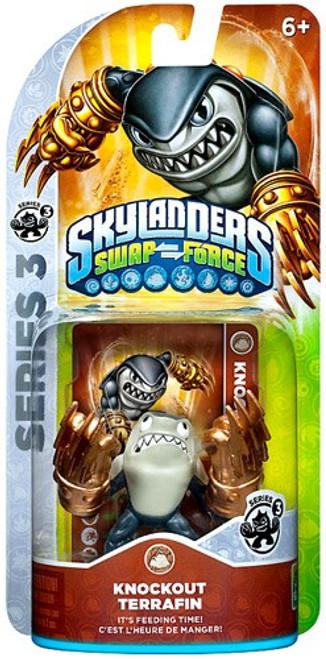 Skylanders Swap Force Series 3 Terrafin Figure Pack [Knockout]