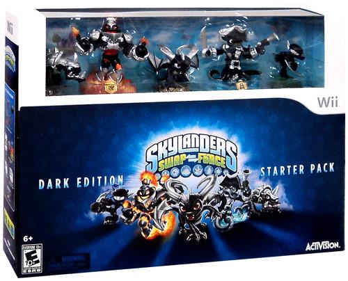 Skylanders Wii Swap Force Starter Pack [Dark Edition]
