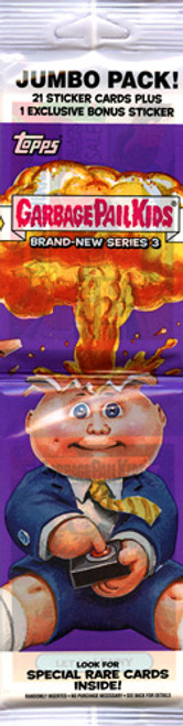 Garbage Pail Kids 2013 Brand New Series 3 Trading Card Sticker Jumbo Pack
