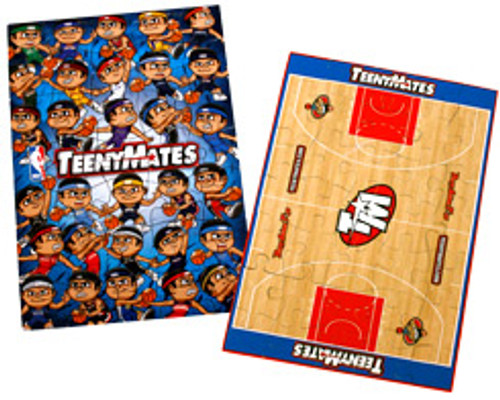 NBA TeenyMates Series 1 Dribblers Puzzle [35 pieces]