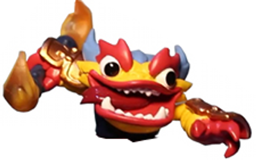 Skylanders Swap Force Loose Fire Figure [Upper Body Loose]