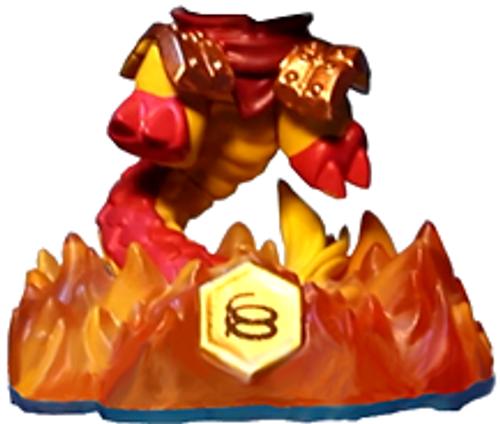 Skylanders Swap Force Loose Kraken Figure [Lower Body Loose]