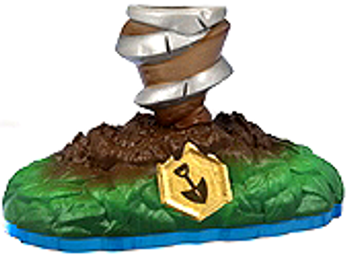 Skylanders Swap Force Loose Drilla Figure [Lower Body Loose]