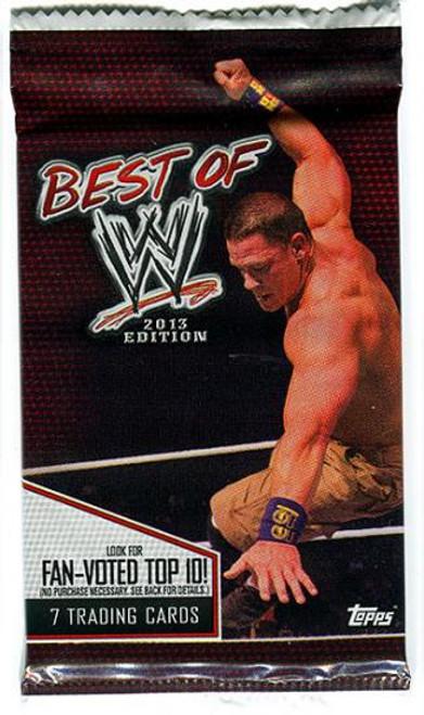 WWE Wrestling 2013 Best of WWE Trading Card Pack