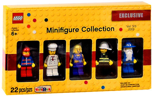 LEGO Exclusives Minifigure Collection Exclusive Set #5002148 [Volume 3]
