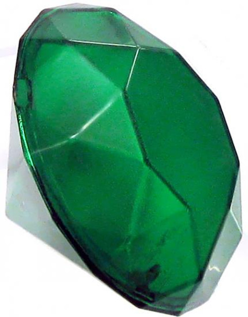 Sonic The Hedgehog Loose Light-Up Green Chaos Emerald 1 1/2-Inch Accessory [Loose]