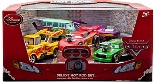 Disney Cars 1:43 Deluxe Sets Hot Rod Exclusive Diecast Car Set
