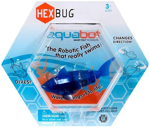 Hexbug Aquabot Blue Shark 3-Inch Electronic Pet