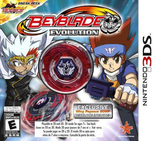 Nintendo 3DS Beyblade Evolution Exclusive Video Game [With Beyblade]