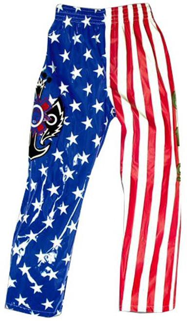 WWE Wrestling Rey Mysterio Replica Pants [Youth, Stars & Stripes]