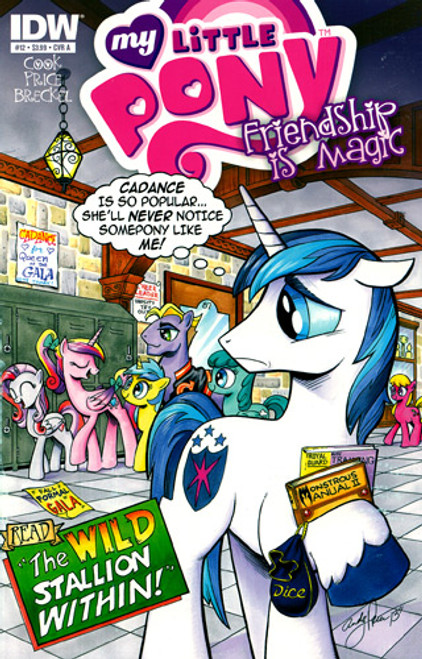 My Little Pony Friendship is Magic Comic Book #12 [Cover A]