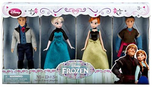 Disney Frozen Frozen Exclusive Mini Doll Set 4-Pack