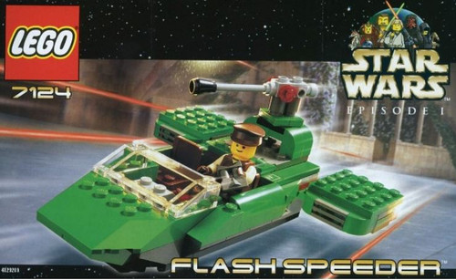 LEGO Star Wars The Phantom Menace Flash Speeder Set #7124 [New]