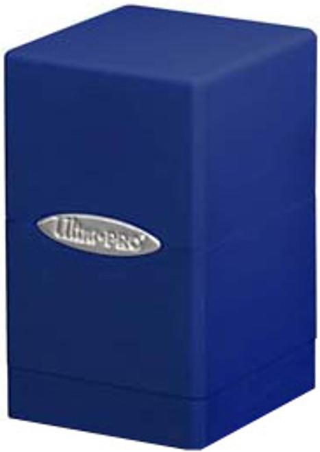 Ultra Pro Card Supplies Satin Tower Blue Deck Box