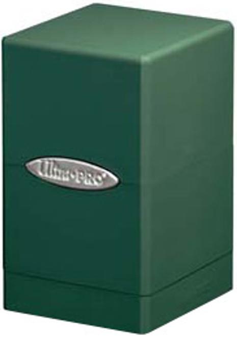Ultra Pro Card Supplies Satin Tower Green Deck Box