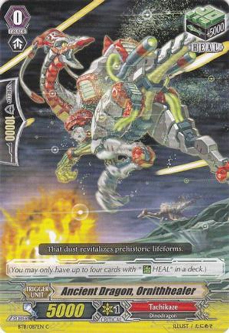 Cardfight Vanguard Seal Dragons Unleashed Common Ancient Dragon, Ornithhealer BT11/087