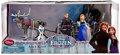 Disney Frozen Anna & Kristoff Sleigh Exclusive Playset