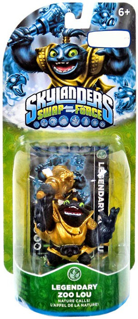 Skylanders Swap Force Zoo Lou Exclusive Figure Pack [Legendary]