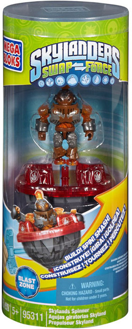 Mega Bloks Skylanders Swap Force Skylands Spinners Skylands Spinner Blast Zone Set #95311