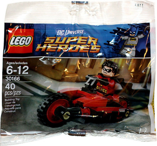 LEGO DC Universe Super Heroes Robin & Redbird Cycle Mini Set #30166 [Bagged]