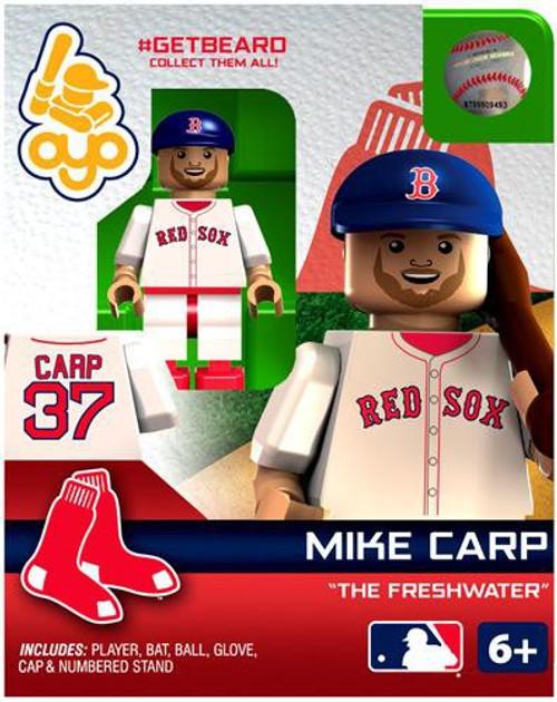 Boston Red Sox MLB Getbeard Mike Carp Minifigure GETBEARD [The Freshwater]