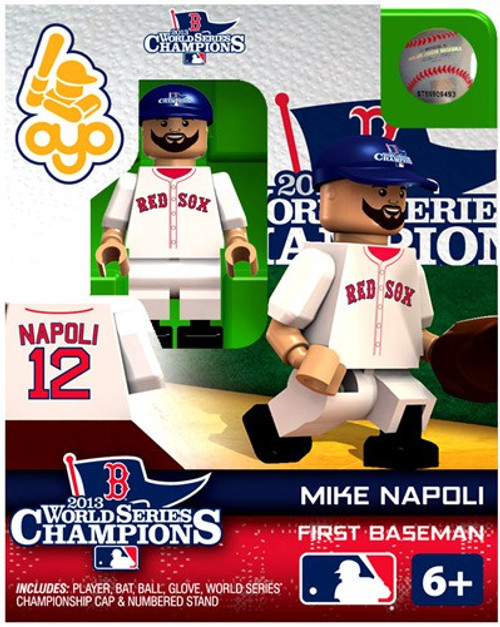 Boston Red Sox MLB 2013 World Series Champions Mike Napoli Minifigure