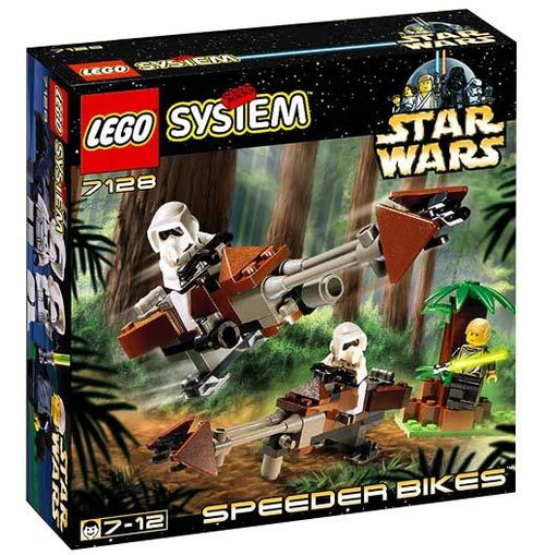 LEGO Star Wars Return of the Jedi Speeder Bikes Set #7128